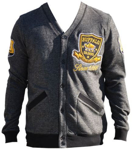 Buffalo Soldiers sweater - lightweight cardigan