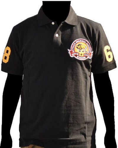 Buffalo Soldiers Polo-Style shirt