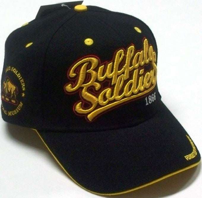 Buffalo Soldiers cap - gold letters with 1866