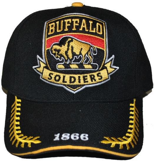 Buffalo Soldiers cap - with shield patch