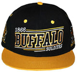 Buffalo Soldiers cap - with Buffalo and gold bib