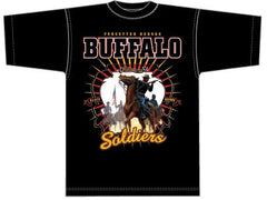 Buffalo Soldier t-shirt - BSTF