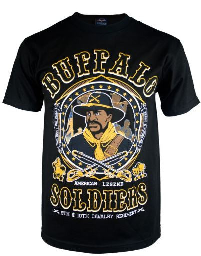 Buffalo Soldiers t-shirt - BSTS