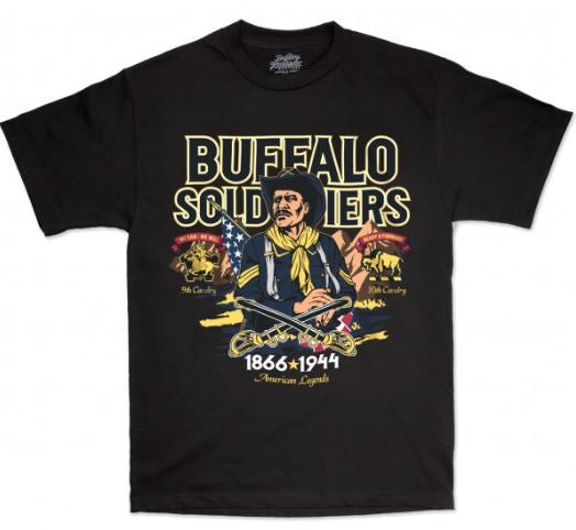 Buffalo Soldiers t-shirt - BSTW