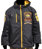 Buffalo Soldiers windbreaker - black