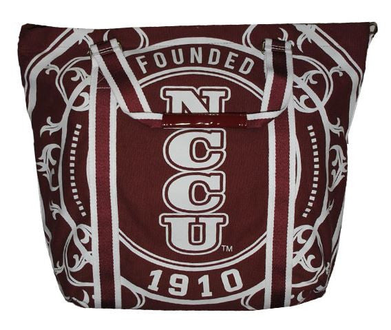 North Carolina Central canvas totebag