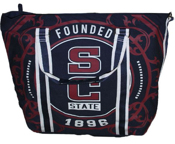 South Carolina State canvas totebag