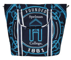 Spelman College canvas totebag