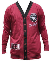 North Carolina Central sweater ladies cardigan - maroon