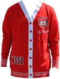 Winston-Salem State sweater - ladies cardigan - CFCB