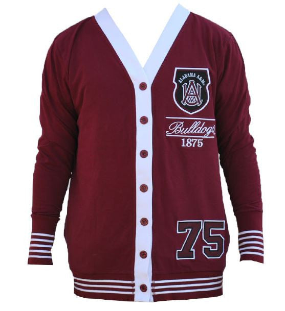 Alabama A&M sweater - ladies cardigan - CFCC