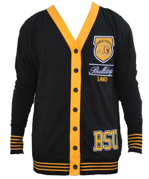 Bowie State sweater - ladies cardigan - CFCC