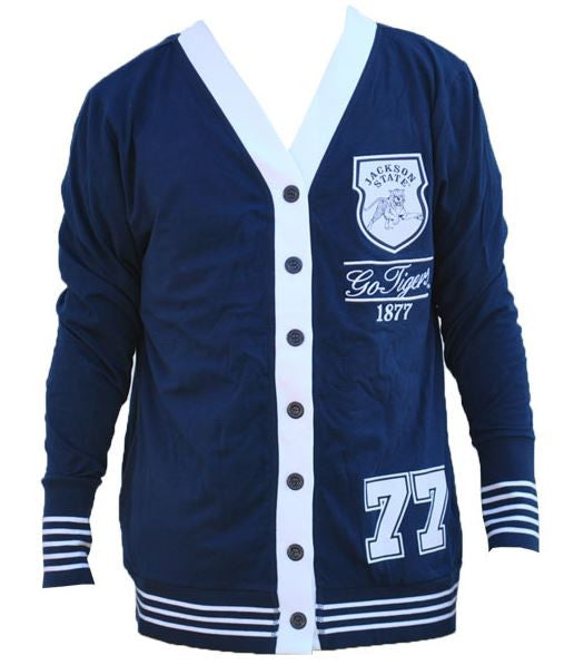 Jackson State sweater - ladies cardigan - CFCC