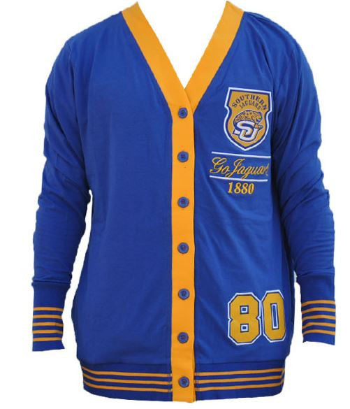 Southern University sweater - ladies cardigan - CFCC