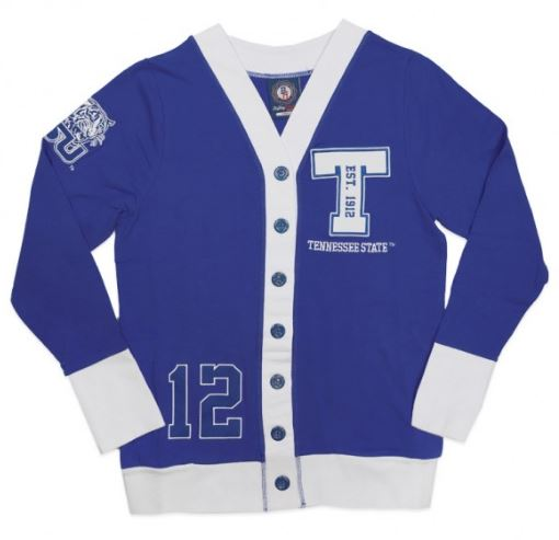 Tennessee State sweater - ladies cardigan - CFCE