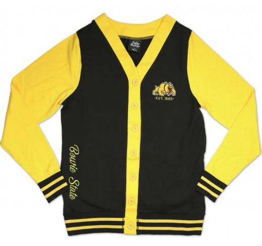 Bowie State sweater - ladies cardigan - CFCF