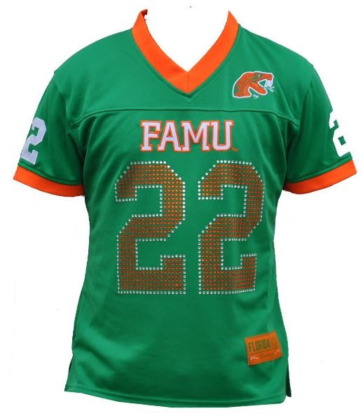 FAMU female football jersey - CFJER7