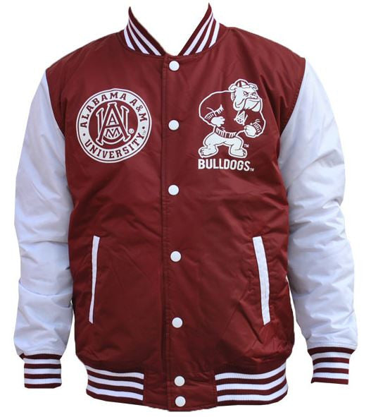 Alabama A&M jacket - lightweight varsity