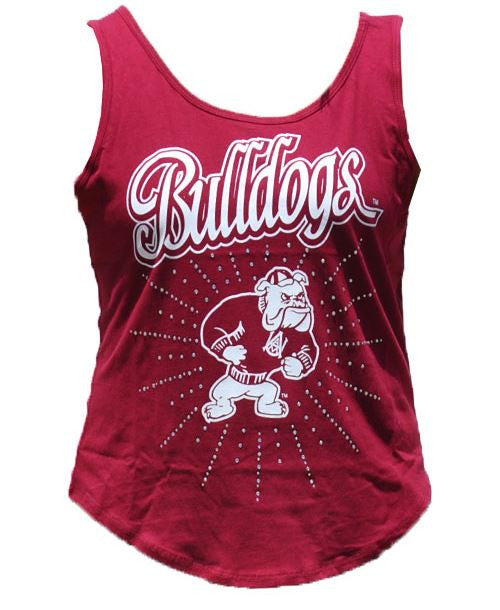 Alabama A&M tank-top - with rhinestones