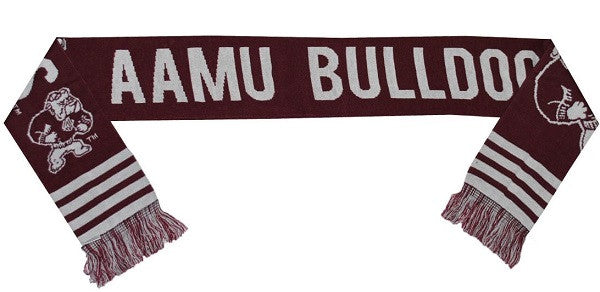 Alabama A&M scarf