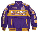 Alcorn State jacket - racing style