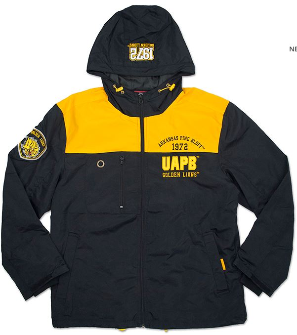 Arkansas Pine Bluff jacket - windbreaker - CWBC