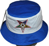 Eastern Star cap - bucket with color letters