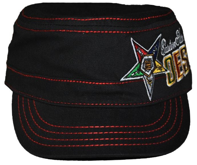 Eastern Star cap - captain - black