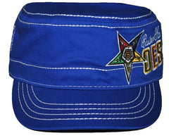 Eastern Star cap - captain - blue