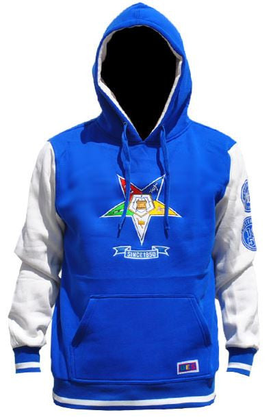 Eastern Star jacket - blue hoodie