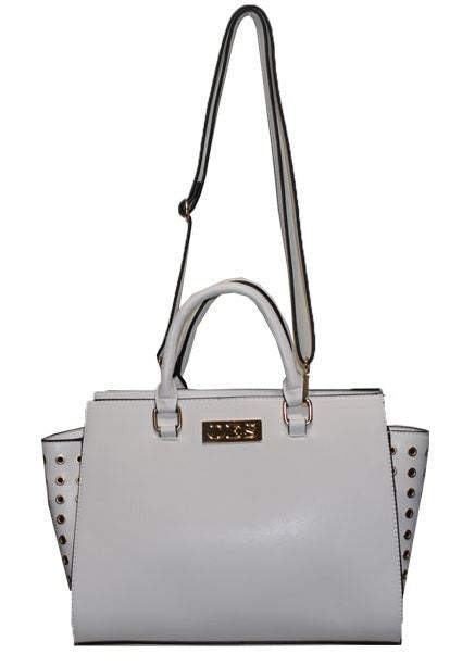 Eastern Star handbag - leather - white