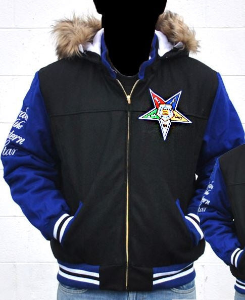 Eastern Star jacket - jacket with detachable hood