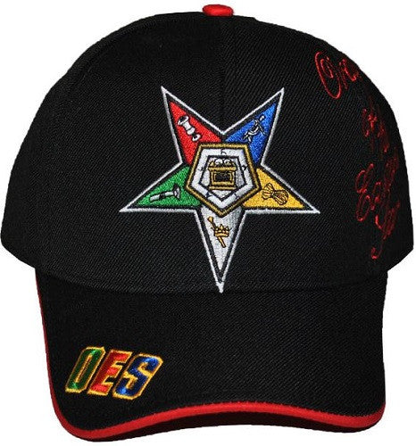 Eastern Star cap - baseball with signature - black