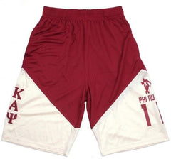Kappa Alpha Psi basketball shorts
