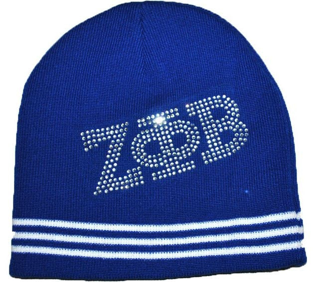 Zeta Phi Beta cap - beanie with rivets