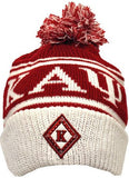 Kappa Alpha Psi cap - knit beanie with ball