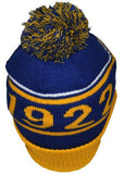 Sigma Gamma Rho cap - knit beanie with ball - poodle