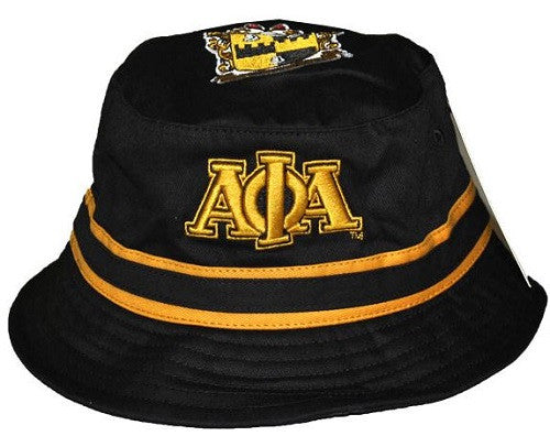 04ba5d1d5485c Alpha Phi Alpha cap - bucket hat – It s A Black Thang.com