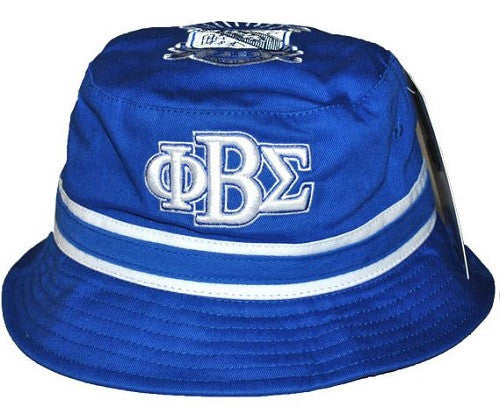 Phi Beta Sigma cap - bucket - blue