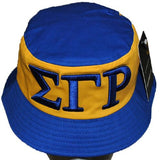 Sigma Gamma Rho cap - bucket yellow