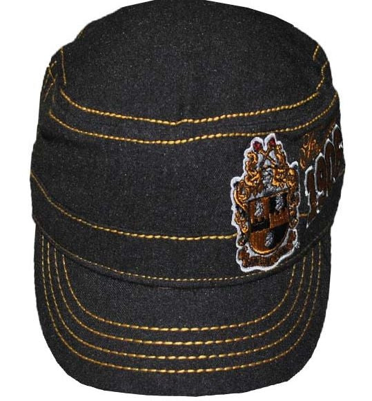 Alpha Phi Alpha cap - captain - black