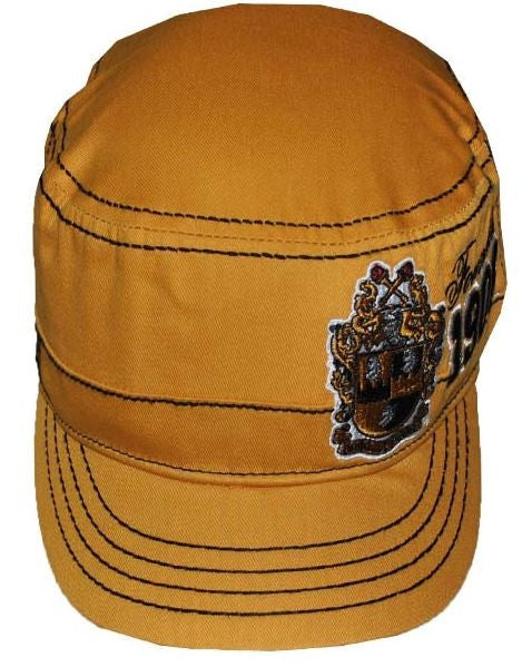 Alpha Phi Alpha cap - captain - gold