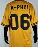 Alpha Phi Alpha jersey - football - gold