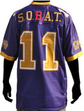 Omega Psi Phi jersey - purple with SOBAT on back