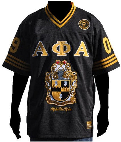 Alpha Phi Alpha jersey - football - black - Ice Cold