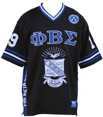 Phi Beta Sigma - football jersey - black - GFJF