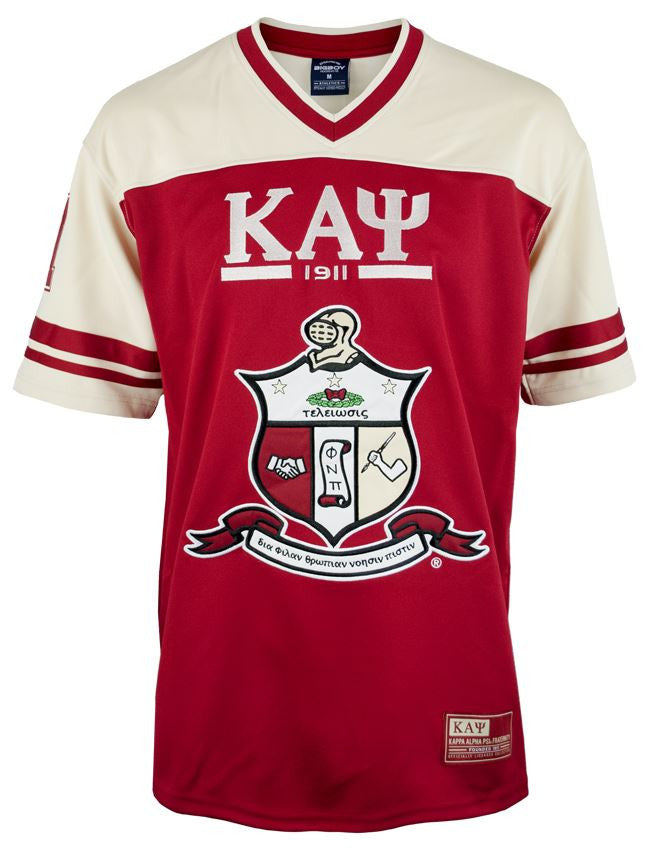 Kappa Alpha Psi football jersey - GFJG