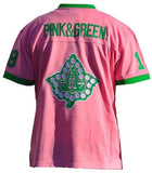 Alpha Kappa Alpha jersey - football - pink with sequins