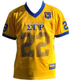 Sigma Gamma Rho jersey - gold with sequins