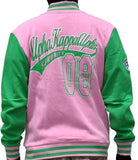 Alpha Kappa Alpha jacket - fleece - pink